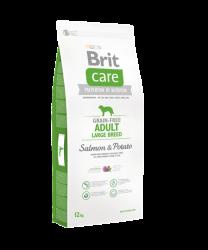 Brit Care - Brit Care Tahılsız Somonlu Büyük Irk Köpek Maması 12 KG