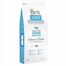 Brit Care - Brit Care Tahılsız Somonlu Büyük Irk Yavru Köpek Maması 12 KG
