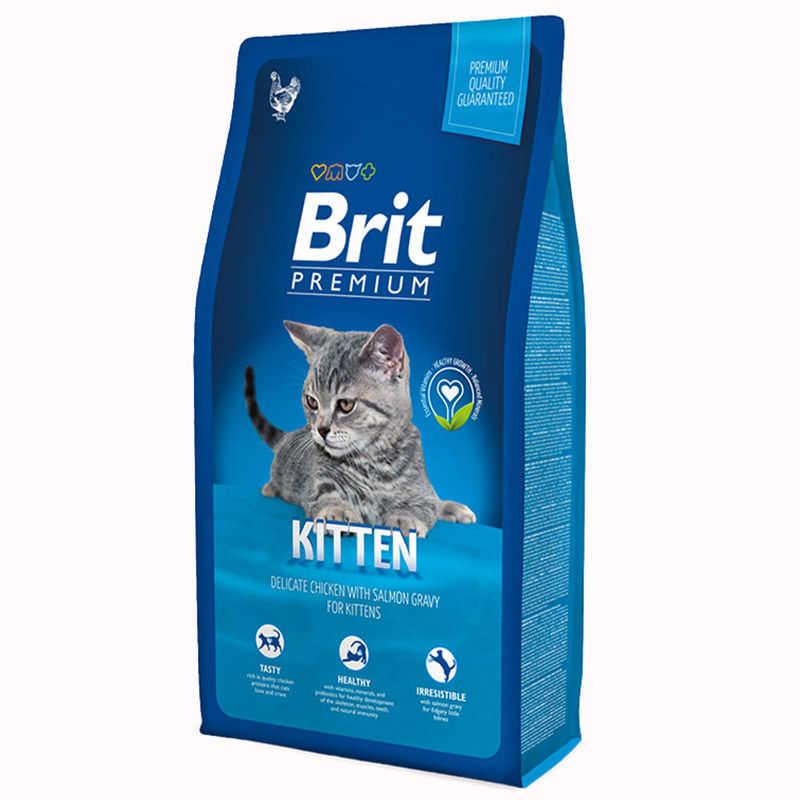 Brit Premium Yavru Kediler İçin Özel Formüllü Kedi Maması 8 KG