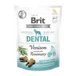 Brit Care - Brit Dental Biberiye ve Geyik Etli Diş Sağlığı İçin Köpek Ödülü 150 GR