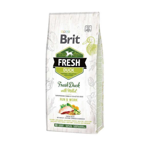 Brit Fresh Ördekli Darılı Aktif Köpek Maması 12 KG