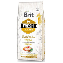 Brit Care - Brit Fresh Tavuk ve Patatesli Köpek Maması 12 Kg
