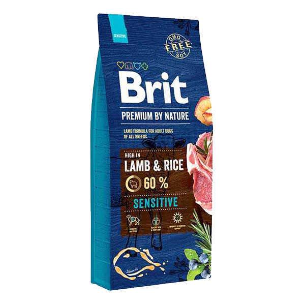 Brit Premium Sensitive Lamb Kuzu Etli Köpek Maması 15 KG