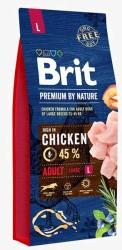 Brit Care - Brit Premium Büyük Irk Tavuklu Köpek Maması 15 KG