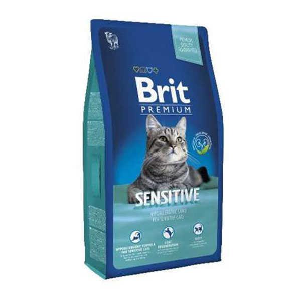 Brit Premium Cat Sensitive Kuzu Etli Kedi Maması 1,5 Kg