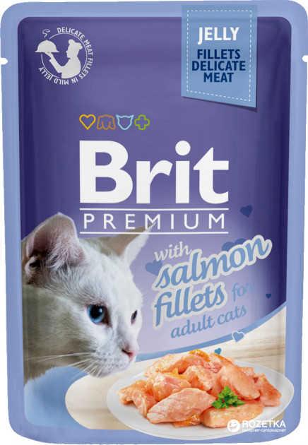 Brit Premium Delicate Somon Balıklı Yaş Kedi Maması 85 GR