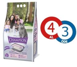 Champion - Champion Topaklanan İnce Taneli Kedi Kumu 5 KG (4 AL 3 ÖDE)