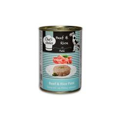 Chefs Choice - Chefs Choice Kıyılmış Biftekli Konserve Köpek Maması 400 Gr