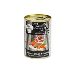 Chefs Choice - Chefs Choice Kıyılmış Kuzulu ve Somonlu Köpek Konservesi 400 GR