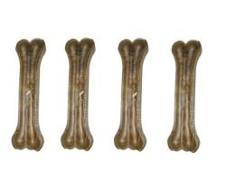 Chewy Bones - Chewy Bones Doğal Dana Derisi Çiğneme Kemiği 30 CM - 330 GR * 4 ADET