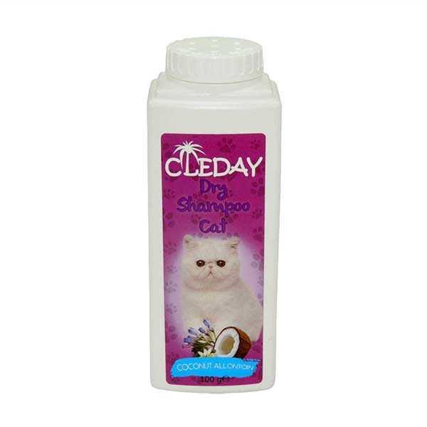 Cleaday Toz Kedi Şampuanı 100 ML