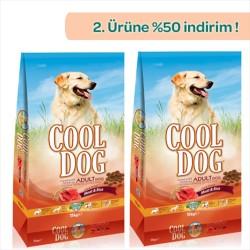 Cool Dog - Cool Dog Kuzu Etli Köpek Maması 15 KG + 15 KG