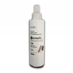 DermaFL - DermaFL Kediler İçin Pire Ve Kene Spreyi 250 ML