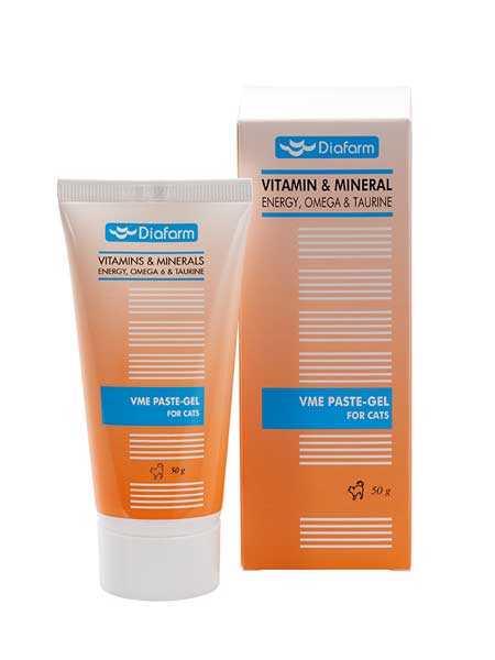 Diafarm Vitamin Mineral-Omega 6 Enerji Paste Köpek Macunu 100 GR