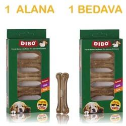 Dibo - Dibo Naturel Köpek Ödül Kemiği 25gr x 5 ADET ( 1 Alana 1 Bedava )