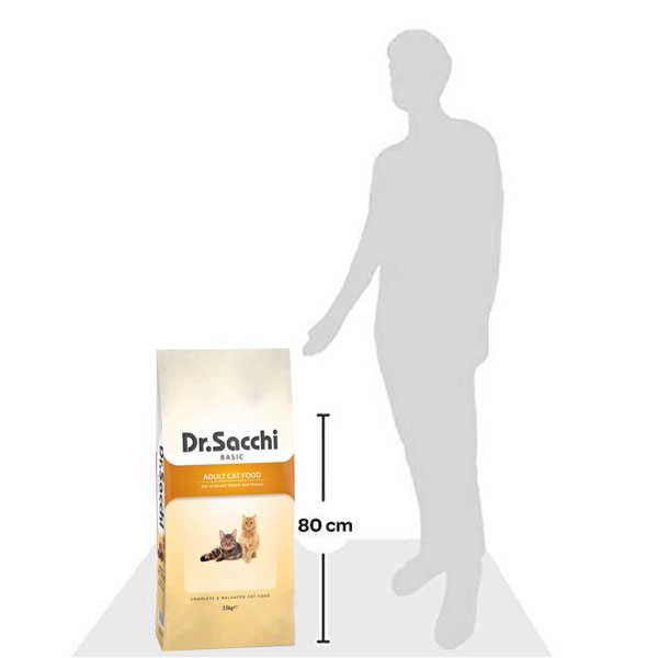 Dr. Sacchi Basic Tavuklu Yetişkin Kedi Maması 15 KG