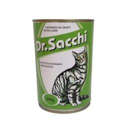 Dr.Sacchi - Dr. Sacchi Kuzu Etli Kedi Konservesi 400 GR
