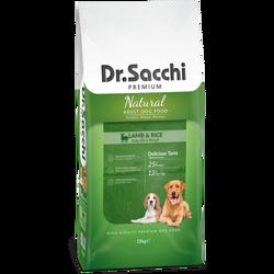 Dr. Sacchi Kuzu Etli Pirinçli Köpek Maması 15 KG - Thumbnail