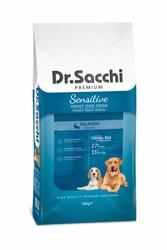 Dr.Sacchi - Dr. Sacchi Somonlu Köpek Maması 15 KG