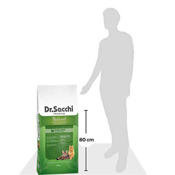 Dr.Sacchi Premium Sensitive Kuzulu Kedi Maması 15 KG