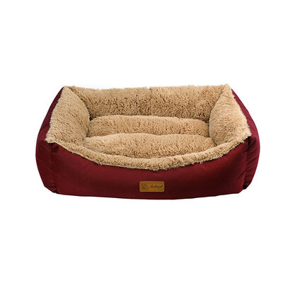 Dubex Jellybean Kedi Köpek Yatağı Bordo S