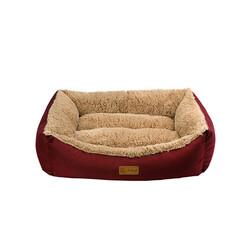 Dubex Jellybean Kedi Köpek Yatağı Bordo S - Thumbnail