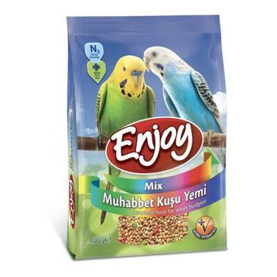 Enjoy Mix Muhabbet Kuşu Yemi 400 GR