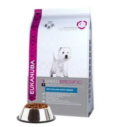 Eukanuba - Eukanuba White Terrier Köpek Maması 2.5 KG