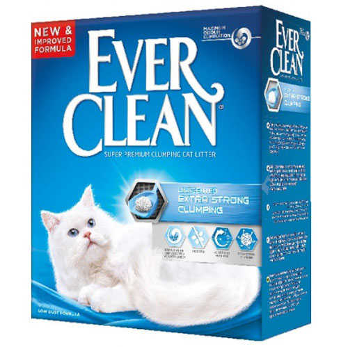 Ever Clean Extra Strong Kokusuz Kedi Kumu 10 LT