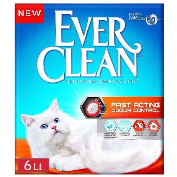 Ever Clean Fast Acting Kedi Kumu 6 Litre