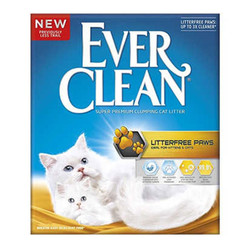 EverClean - Ever Clean Litter Free Paws Patilere Yapışmayan Doğal Kedi Kumu 10 LT