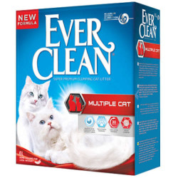 EverClean - Ever Clean Multiple Cat Topaklaşan Kedi Kumu 6 LT