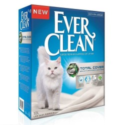 EverClean - Ever Clean Total Cover Uzun Ömürlü Topaklanan Kedi Kumu 10 LT