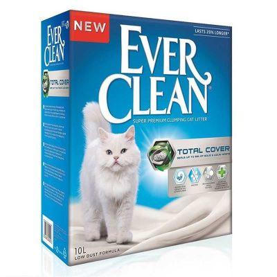 Ever Clean Total Cover Uzun Ömürlü Topaklanan Kedi Kumu 10 LT