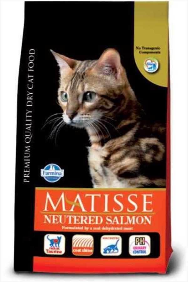 Matisse Sterilised Somonlu Kısırlaştırılmış Kedi Maması 10 KG