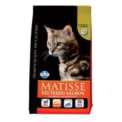 Matisse - Matisse Somonlu Kısırlaştırılmış Kedi Maması 1,5 KG
