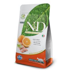 Farmina N&D - ND Tahılsız Balıklı Portakallı Kedi Maması 5 KG