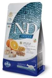 Farmina N&D - ND Düşük Tahıllı Balıklı Portakallı Kedi Maması 1.5 KG