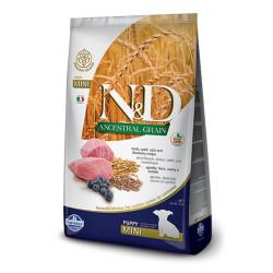 Farmina N&D - ND Düşük Tahıllı Kuzu Etli Küçük Irk Yavru Köpek Maması 7 KG