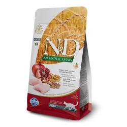 Farmina N&D - ND Düşük Tahıllı Tavuklu Kedi Maması 1.5 KG