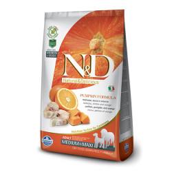 Farmina N&D - ND Tahılsız BalKabaklı Balıklı Köpek Maması 12 KG
