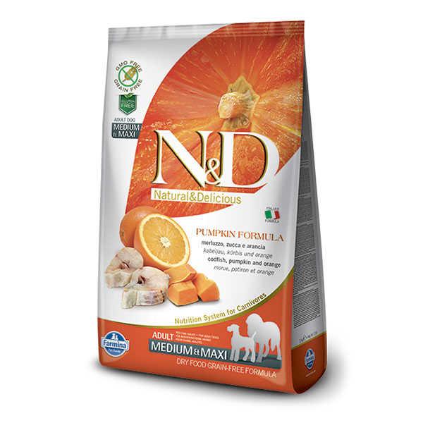 ND Tahılsız Bal Kabaklı Balık ve Portakallı Köpek Maması 2.5 KG