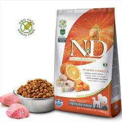 Farmina N&D - ND Tahılsız Bal Kabaklı Balık ve Portakallı Köpek Maması 2.5 KG