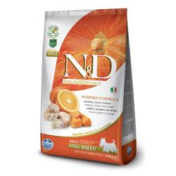 Farmina N&D - ND Tahılsız Bal Kabağı Balık Küçük Irk Köpek Maması 2.5 KG