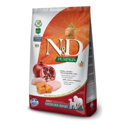 Farmina N&D - ND Tahılsız Bal Kabağı Tavuk ve Narlı Köpek Maması 2.5 KG