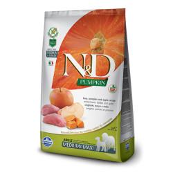 Farmina N&D - ND Tahılsız Bal Kabaklı Domuzlu ve Elmalı Köpek Maması 12 KG
