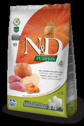Farmina N&D - ND Bal Kabaklı Domuzlu Köpek Maması 2.5 KG