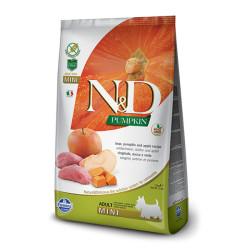 ND Bal Kabaklı Domuz ve Elmalı Küçük Irk Köpek Maması 2.5 KG - Thumbnail