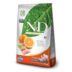 Farmina N&D - ND Tahılsız Balık ve Portakallı Köpek Maması 12 KG