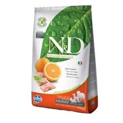 Farmina N&D - ND Tahılsız Balık ve Portakallı Köpek Maması 7 KG